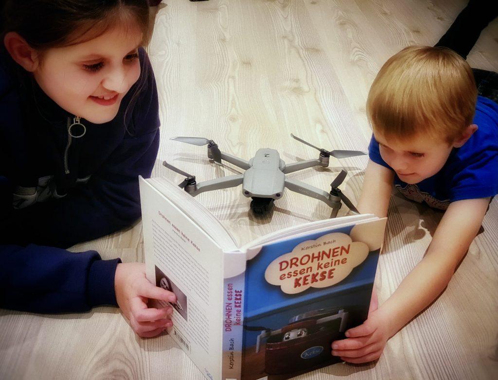 """Lesespaß """"Drohnen essen keine Kekse"""""""