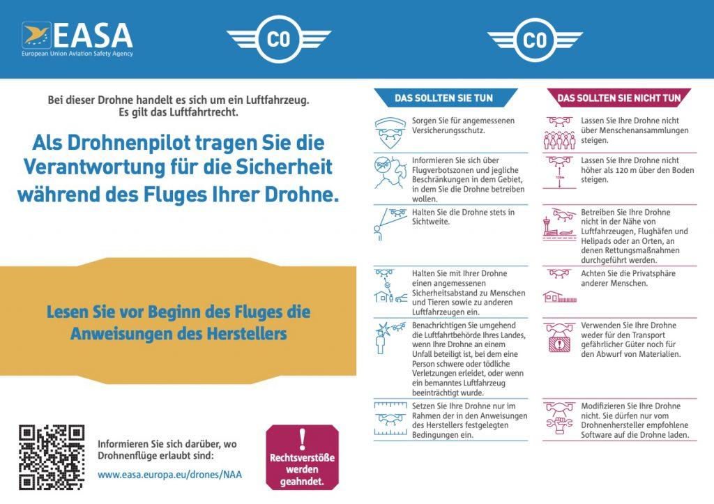 EASA-Klasse-C0 ohne Kamera